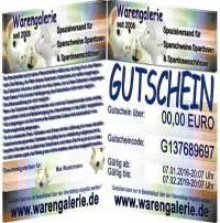 Gutschein einen Geschenkgutschein zum Verschenken im Wert von 10 Euro bis 50 Euro kaufen - Bild vergrößern
