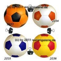 Spardose Fußball 3 Farbvariante auswählen Spardosen mit Spardosenschloss Maße ca.: D= 15,5 cm - Bild vergrößern