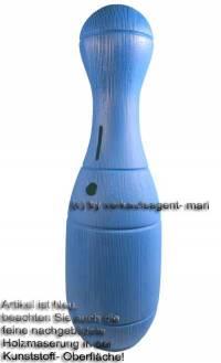 Spardose Kegel blau Kegelspardose mit Spardosenschloss und Spardosenschlüssel Maße ca.: H= 33 cm - Bild vergrößern