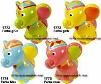 Spardose Elefant Kinder Farbe auswählen Keramik mit Spardosenschloss Maße ca.: H= 14,5 cm - Bild vergrößern