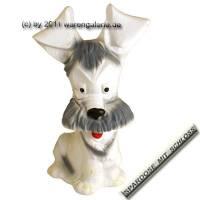 Spardose Hund Jimmy mit Spardosenschloss und Metall- Spardosenschlüssel Maße ca.: H= 19,5 cm - Bild vergrößern