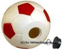 Spardose Fußball 2 Farbvariante auswählen Spardosen mit Spardosenschloss Maße ca.: D= 15,5 cm - Bild vergrößern