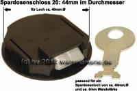 Spardosenschloss 20: 44mm 1 Stück Maße: Ø= 44 mm - Bild vergrößern