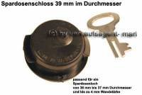 Spardosenschloss 39mm 1 Stück Maße: Ø= 39 mm - Bild vergrößern