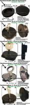 Auswahl einzelner Spardosenverschlüsse bis 44 mm Spardosenstopfen & Spardosenschlösser mit Schlüssel